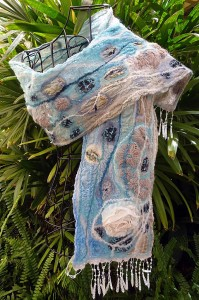 Edge of the Reef (scarf)